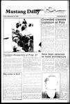 Mustang Daily, September 28, 1984