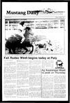 Mustang Daily, October 8, 1984