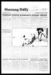 Mustang Daily, October 10, 1984
