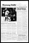 Mustang Daily, October 31, 1984