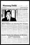 Mustang Daily, November 7, 1984