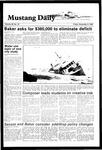 Mustang Daily, November 9, 1984