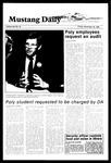 Mustang Daily, November 16, 1984