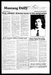 Mustang Daily, November 28, 1984