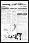 Mustang Daily, November 29, 1984