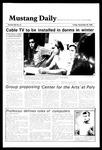 Mustang Daily, November 30, 1984