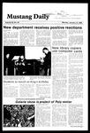 Mustang Daily, January 14, 1985