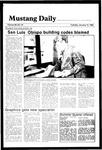 Mustang Daily, January 15, 1985