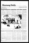 Mustang Daily, January 16, 1985