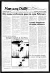 Mustang Daily, January 17, 1985
