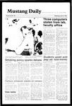 Mustang Daily, April 24, 1985