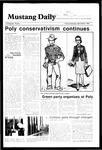 Mustang Daily, April 26-27, 1985