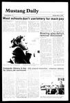 Mustang Daily, May 13, 1985