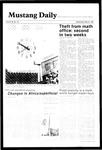 Mustang Daily, May 22, 1985