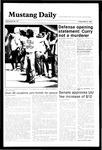 Mustang Daily, May 31, 1985