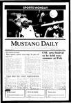 Mustang Daily, October 7, 1985