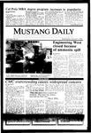 Mustang Daily, October 9, 1985