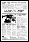Mustang Daily, October 10, 1985