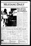 Mustang Daily, October 11, 1985