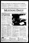 Mustang Daily, October 15, 1985