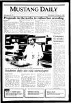 Mustang Daily, October 16, 1985