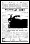 Mustang Daily, October 17, 1985