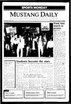 Mustang Daily, October 21, 1985