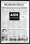 Mustang Daily, October 24, 1985