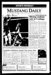 Mustang Daily, October 28, 1985