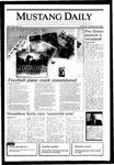 Mustang Daily, October 29, 1985