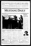 Mustang Daily, October 30, 1985
