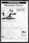Mustang Daily, October 31, 1985
