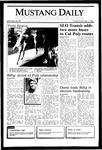 Mustang Daily, November 1, 1985