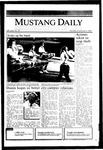 Mustang Daily, November 4, 1985