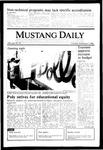 Mustang Daily, November 7, 1985