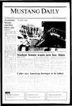 Mustang Daily, November 8, 1985