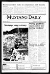 Mustang Daily, November 13, 1985
