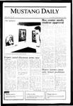 Mustang Daily, November 14, 1985