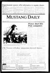 Mustang Daily, November 15, 1985