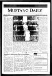 Mustang Daily, November 18, 1985