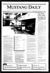 Mustang Daily, November 20, 1985