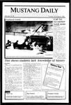 Mustang Daily, November 21, 1985