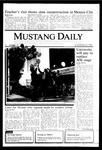 Mustang Daily, November 22, 1985
