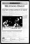 Mustang Daily, November 25, 1985