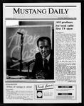 Mustang Daily, September 22, 1986