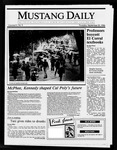 Mustang Daily, September 25, 1986