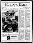 Mustang Daily, September 26, 1986