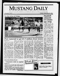 Mustang Daily, September 30, 1986