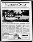 Mustang Daily, October 1, 1986