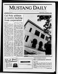 Mustang Daily, October 8, 1986